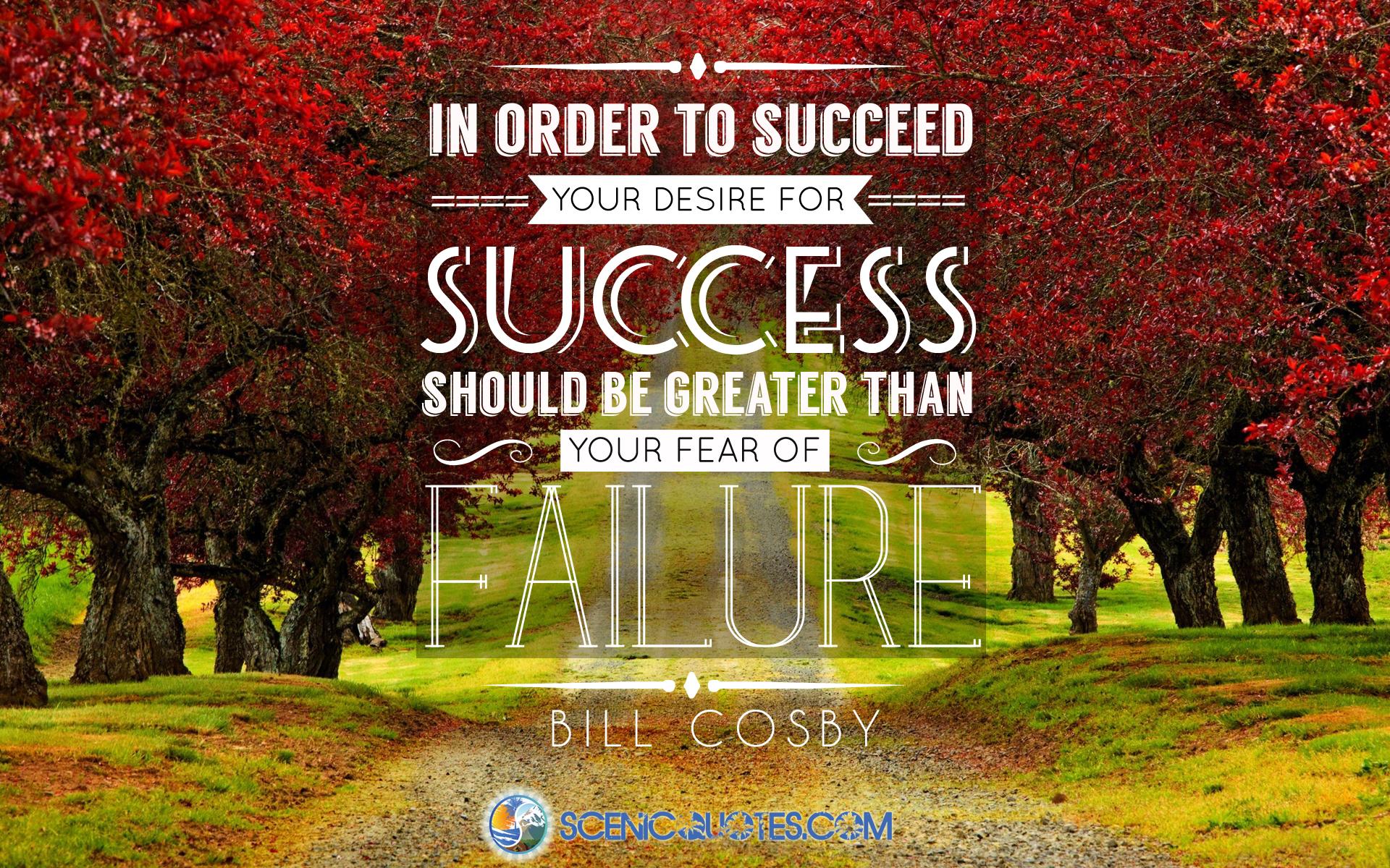 Success quote by scenicquotes.com